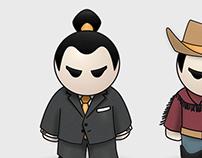 Basho Figures