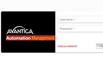 Avantica Automation App Design