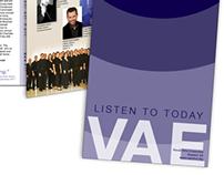 Vocal Arts Ensemble Season 33 Brochure
