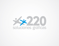 220 identidad (branding)
