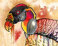 Ilustration: Urubu Rei