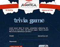Trivia Game for Avantica