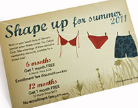 Summer Fitness Promotion