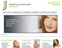 Juliette John Cosmetic and Laser Clinic Website