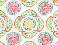 fruit jelly pattern