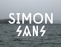 Simon Sans - Display Typeface