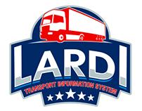 "Логотип транспортного информационного сервиса ""Ларди"""