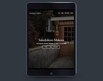 Makoto Restaurant - Responsive Web Design