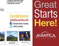 Recruiting Brochure Avantica