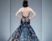 Zac Posen SS13 on the Runway