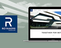 Reynaers - Corporate Website