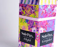 """Solepax"" Tampon Packaging Design"
