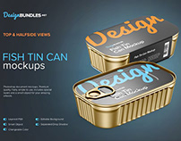 FREE Food Tin Can Mockup