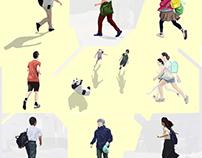 Running people 7347/pcg1605-1708