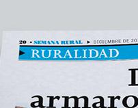 Diagramación Artículos Periódico Semana Rural