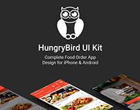 HungryBird - Food App UI Kit