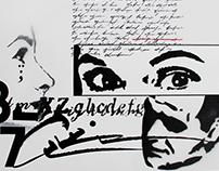 collage/stencil/type