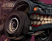 Riviera racing #BeastedUp!