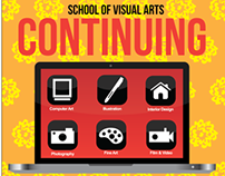 School of Visual Arts CE posters