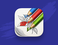 Adult Coloring App icon