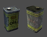 Oil can model