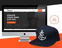 Cap customizer website
