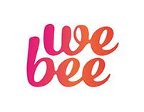 WeBee Logo Design