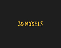 3D MODELS & IMAGES