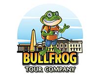 Bullfrog Tour Company Logo