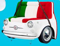 Fiat 500 Design Collection - Stampa + Evento + Sito