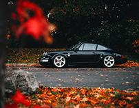 Porsche 964 Carrera 4 ≠ Autumn Colours