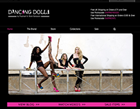 Dancing Dolls Ecommerce Wordpress Website