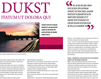 Layout Revista Duskt