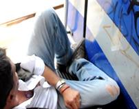 A MIMA MINUTE on the train to La Plata
