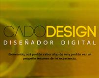 Cado Design - Portafolio personal version 7.0