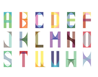 SoShapely, Modular Typeface