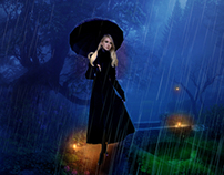 Caminando Bajo La Lluvia