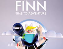 "ADVENTURE TIME! FINN ""Fan Art"""