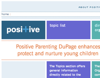 Positive Parenting Dupage Website