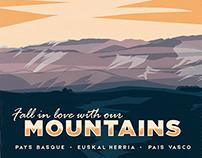 Travel Poster - Urdanarre