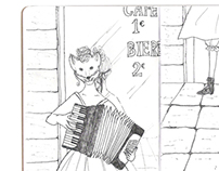 page 10~11 (The Sketchbook Project 2013)