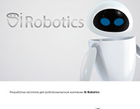 SI Robotics logo design