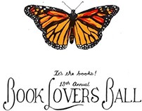 Book Lovers Ball 2012 Broadside