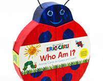 Eric Carle Deluxe Flash Cards Novelty Box Design