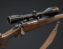 Mick Taylor's Hunting Rifle