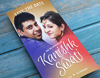Save the Date for Kanishk & Swati