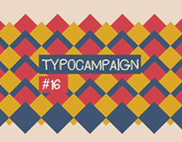 TYPOCAMPAIGN #16 - Jun/Nov '12