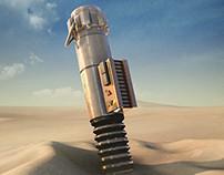 Star Wars Episode 7: The Force Awakens — Fan Art Poster