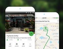 Mobile App for Cốc Cốc Map