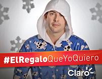 #ElRegaloQueYoQuiero - Claro Navidad